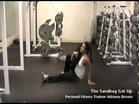 Sandbag Get Up Exercise How To  | Seattle Athletic Club Downtown
