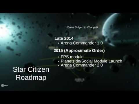 Star Citizen CitizenCon 2014 Complete Show