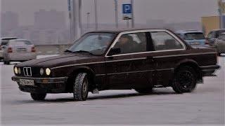 Колхозим запчасти от ВАЗа и Москвича. Первый дрифт на BMW E30