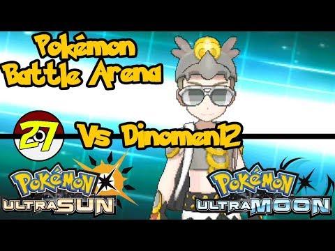 Friend Match vs Dinomen   Pokemon Battle Arena Episode 27
