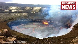 Hawaii Volcano UPDATE: USGS Loses GPS Station in Massive Kilauea Summit Collapse