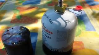 Kovea cap heater 2 наблюдения по горелкам и испытываем в палатке