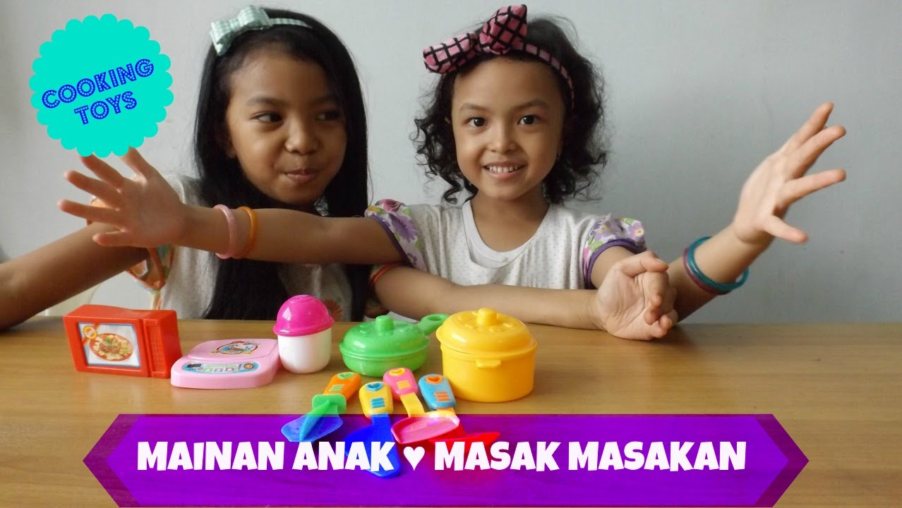 Mainan anak masak masakan kitchen set toys for children for Kitchen set anak