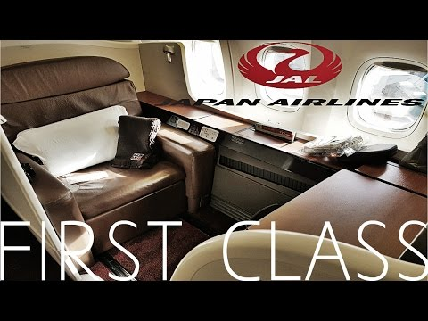 JAPAN AIRLINES FIRST CLASS !