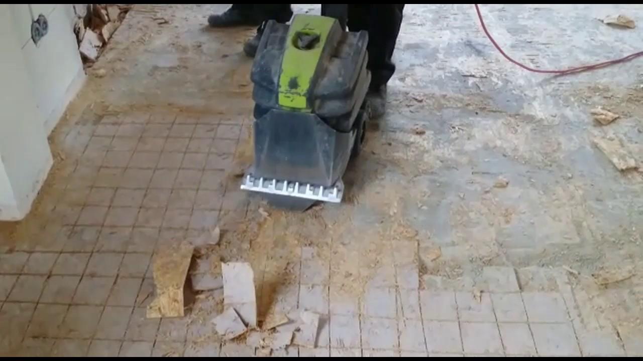 Ondervloer Eiken Vloer : Gelijmde houten ondervloer verwijderen bel wolter