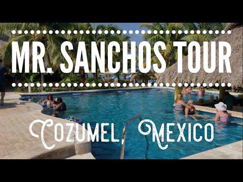 MR. SANCHOS ALL INCLUSIVE RESORT TOUR IN COZUMEL, MEXICO