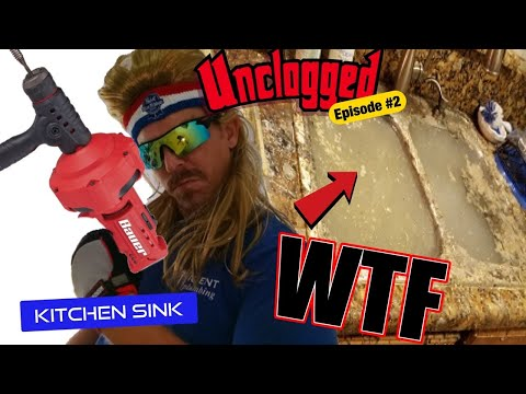 How to snake a clogged kitchen sink drain Do it yourself [Unclogged #2]