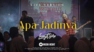 Gambar cover LANGIT SORE - APA JADINYA (LIVE #JHONOR12)