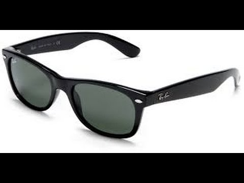ray ban new wayfarer black rubber review