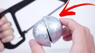 What's Inside a Polished Japanese Foil Ball - Japanese Foil Ball Break Challenge