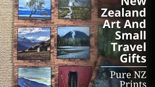 New Zealand Art And Small Travel Gifts