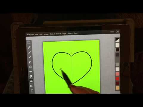 Drawing and making clip art using Art Studio app