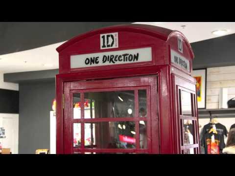 One Direction Shop In London - Exclusive Pics - Top Secret Location