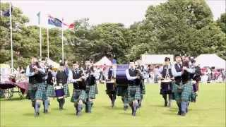 North Berwick 2015 - Silver Thistle Pipes & Drums
