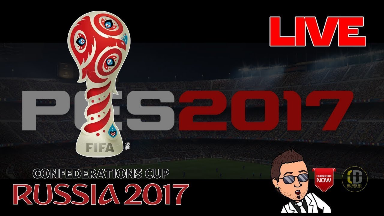 Russia Confederations Cup 2017 Patch
