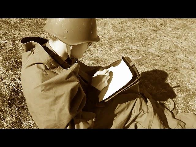 Изображение предпросмотра прочтения – «Солнечный город» читают произведение «Жди меня, и я вернусь» К.М.Симонова
