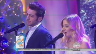 Jackie Evancho & Il Volo - Little Drummer Boy (Today Show 2016)
