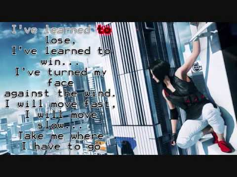 Mirrors Edge  Still A with Lyrics