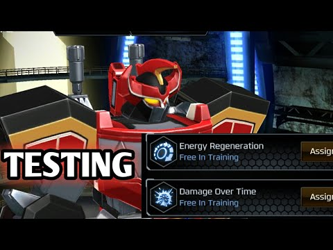 ENERGY REGENERATION AND DAMAGE OVER TIME MEGA TESTING!!!  MEGAZORD MODE POWER RANGERS LEGACY WARS