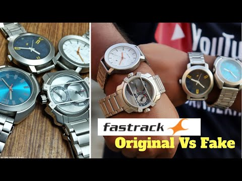 Fastrack Original Vs Fake How to Identify | My New Fastrack Watch From Online Duplicate Fake Copy