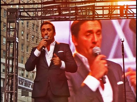 Best of France Center Stage Performances in Times Square filmed on Sunday September 27, 2015