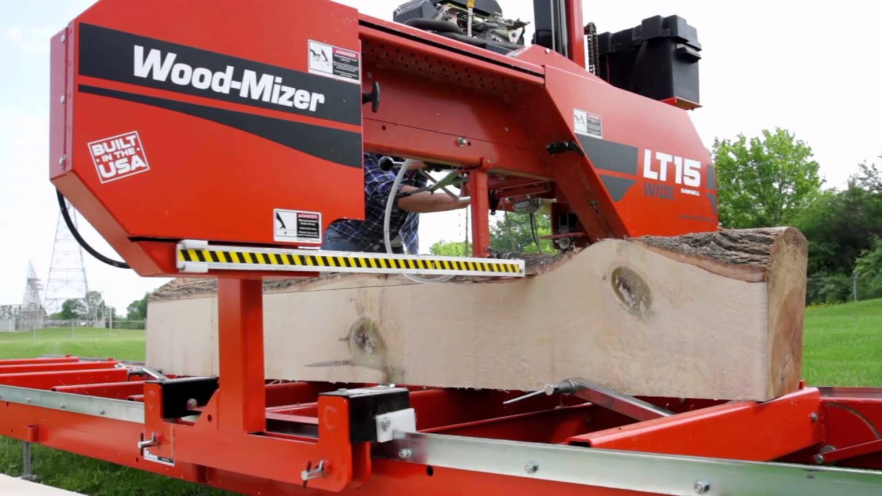 Woodmizer Lt15 Sawmill - Year of Clean Water
