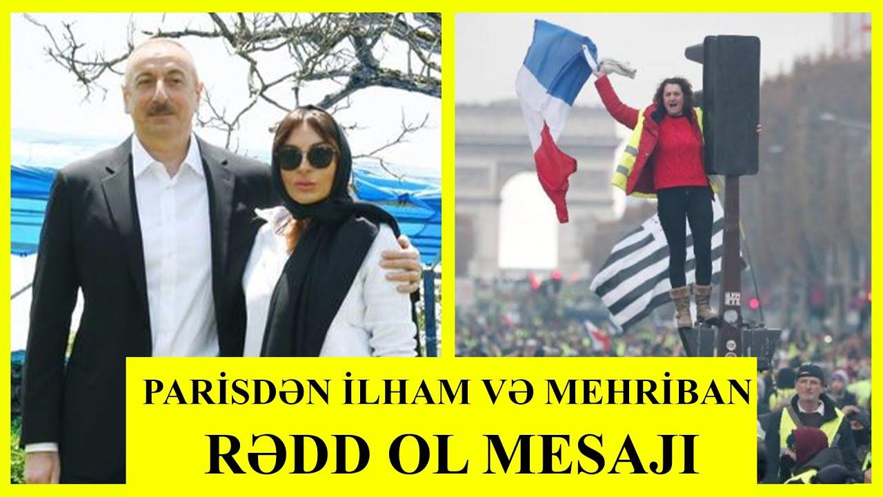 Paris İlham Əliyevə çıx get dedi - Azərbaycanlılara zülümü durdurun