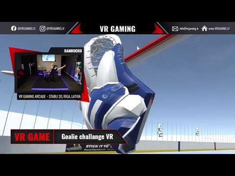 Goalie challenge VR - spēles ieskats