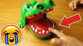 Крокодил довел мою дочь до слез! Крокодил челлендж!(Канал Фартит ТВ: https://goo.gl/mSznAW ✓ Крокодил дантист на Aliexpress: http://ali.pub/xg8f7 ✓ Крокодил дантист на Gearbest: https://goo.gl/1..., 2016-04-18T04:50:06.000Z)
