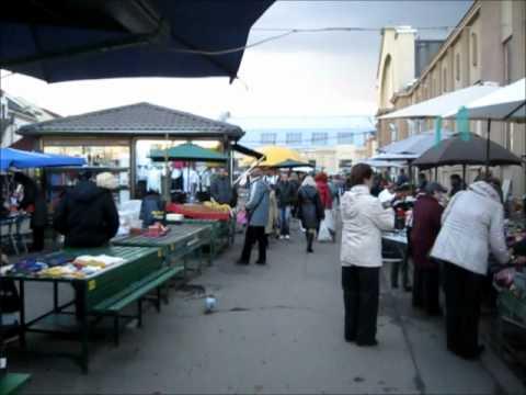 Traditional market, Riga, Latvia - السوق الشعبي, ريغا, لاتڤيا