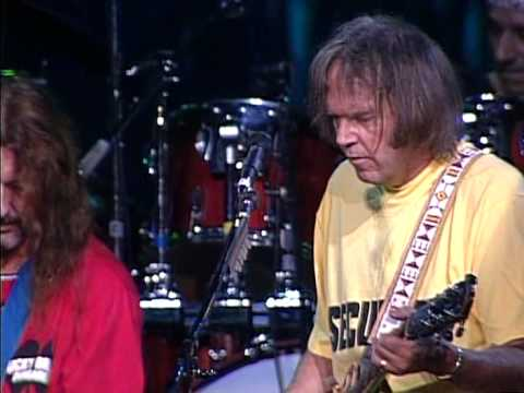 Neil Young and Crazy Horse - Down By the River (Live at Farm Aid 1994)