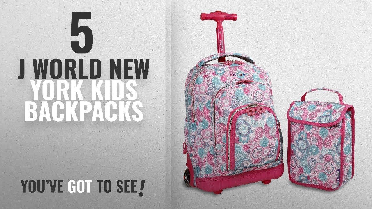 c74606b4fb Best J World New York Kids Backpacks [2018]: J World New York ...