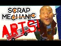 Scrap Mechanic - SCRAP ARTS! Vs. Tomohawk | FIRETRUCK!