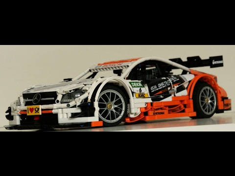 lego technic moc mercedes benz amg c63 dtm part 2 youtube. Black Bedroom Furniture Sets. Home Design Ideas