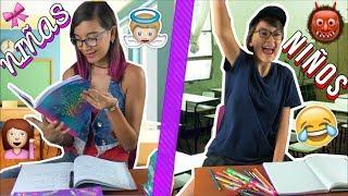 ¡NIÑOS V.S NIÑAS! En La Escuela ♥ Lulu99