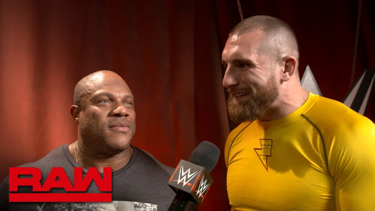 Seven-Time Mr. Olympia Phil Heath drops in on Raw: Raw Exclusive, Sept. 24, 2018