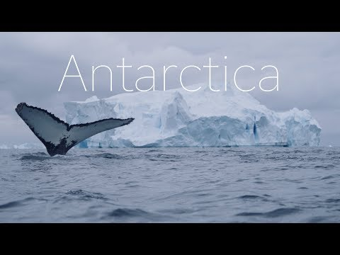 ANTARCTICA - The Frozen Continent - 4k DRONE Video