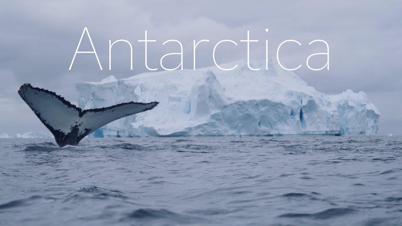 ANTARCTICA - The Frozen Continent - 4k DRONE Video