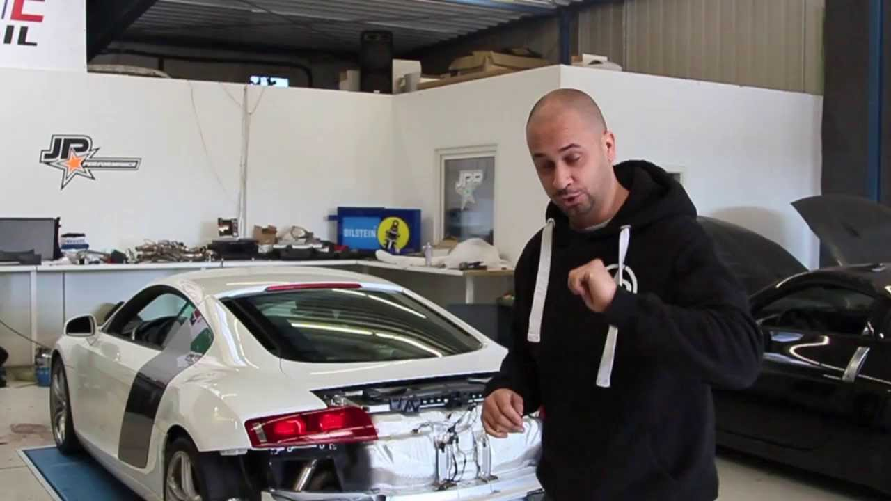 Jp Performance Audi R8 Klappenabgasanlage Youtube