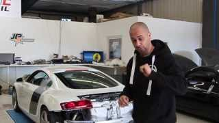 JP Performance - Audi R8 Klappenabgasanlage