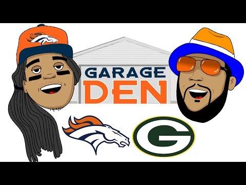 Garage Den Broncos Packers edition