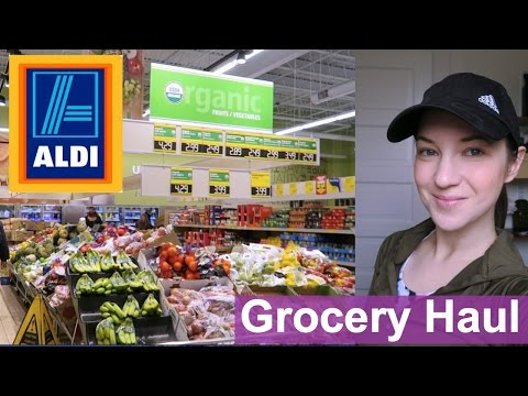 Aldi Grocery Haul - Whole30 / Gluten Free