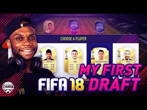 MY FIRST FIFA 18 FUT DRAFT! | FIFA 18 GAMEPLAY ULTIMATE TEAM