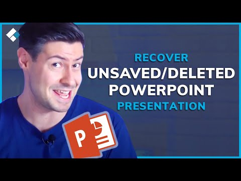 PowerPoint Recovery | How To Recover Unsaved/Deleted PowerPoint Presentation?