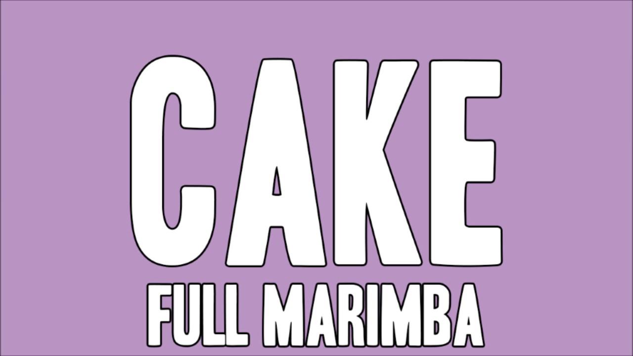 How To Make A Marimba Cake