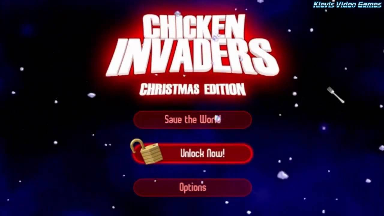 Chicken invaders 2: the next wave remastered christmas edition.