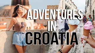 Craziest Day EVER in CROATIA!!!! Travel Vlogs!!!