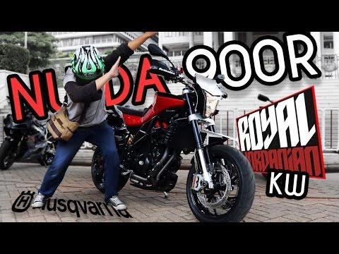 HUSQVARNA NUDA 900R IN JAKARTA ! (Arrow Exhaust)