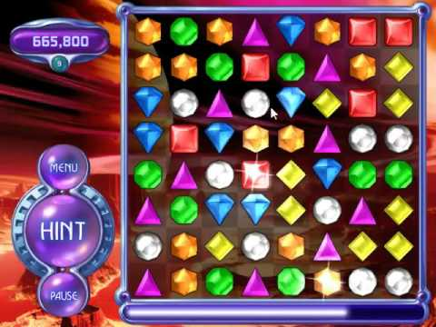 Bejeweled 2 Deluxe Pc Action 2 884 350 Youtube