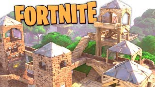 Fortnite - Base Building and Zombie Smashing! -  Fortnite Gameplay